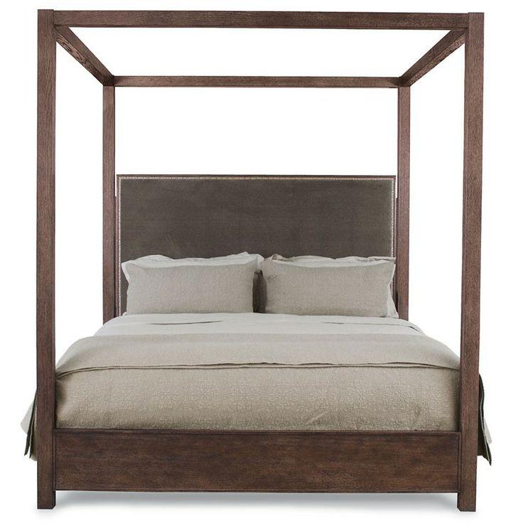 Bernhardt elements canopy bed queen 335 457 bernhardt for High end canopy beds