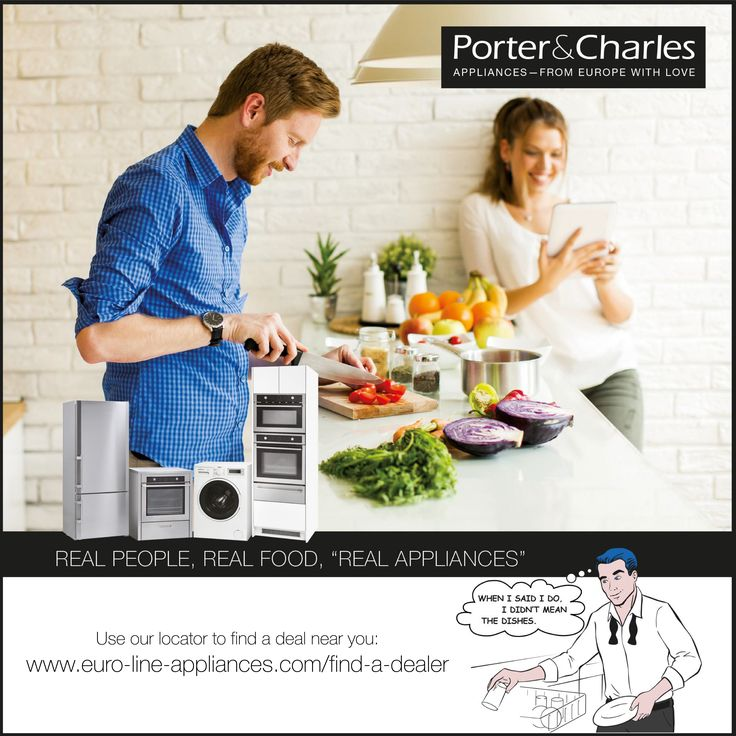 Bring romance back into the kitchen, with delicious results! #cooking #kitchenappliances #kitchen #foodie #interiordesign #kitchendesign #porterandcharles