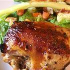 Foto de receta: Pollo al horno con marinada de hierbas y aceto