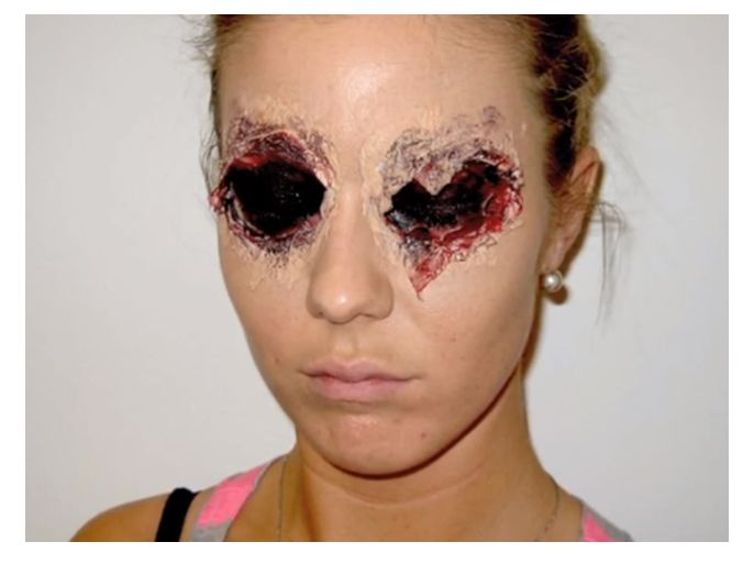 23 examples of scary halloween makeup ideas - Scary Halloween Ideas