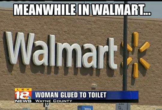 funny pictures in walmart with captions | funny caption picture meanwhile in walmart news report woman glued to ...