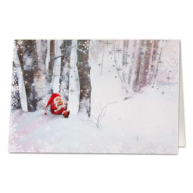 330 besten weihnachtskarten 2017 2018 bilder auf pinterest for Originelle weihnachtskarten