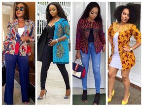 Trendy Ankara Jacket Every Lady Needs - Ankara collections brings the latest high street fashion online