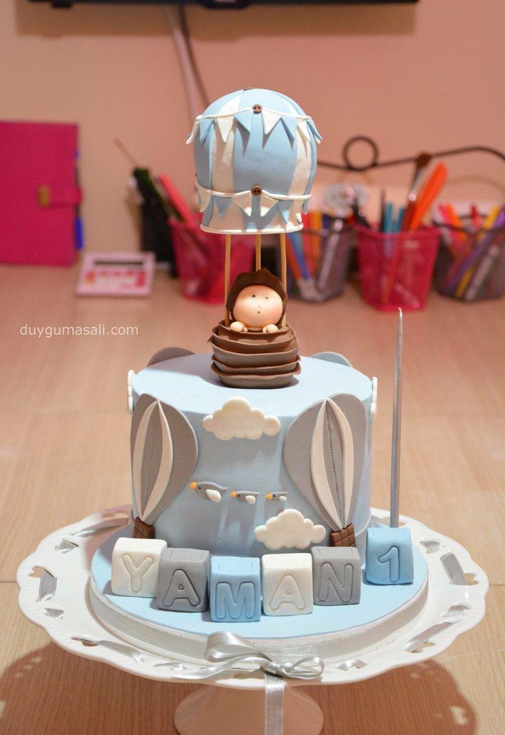 YAMAN 1 Yaşında! #mutlupazarlar duygumasali.com #hotairballon #hotairbalooncake #cake #pasta #fondant #çocukdoğumgünü #dogumgunupastasi #edirne #edirnepasta #edirnebutikpasta #butikpasta #1yasdogumgunu #like4like #handmade #amazing #dessert #delicious #homemade #kidsbirthday