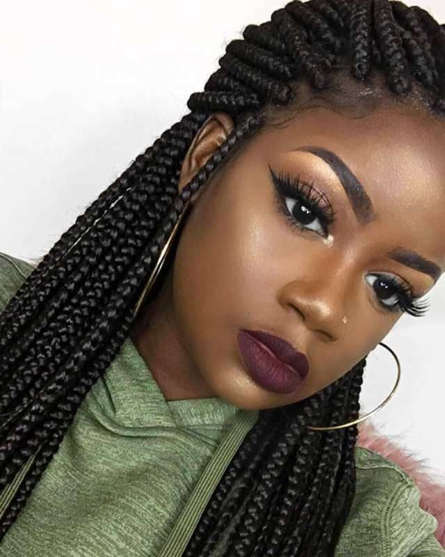 2019 Braided Hairstyle Ideas For Black Women Braided Hairstyles Hair Styles African Braids Styles