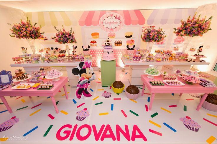 Festa Confeitaria da Minnie!!