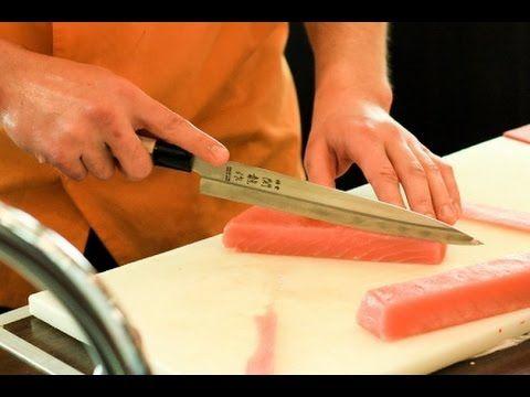Как нарезать рыбу на праздничный стол? - YouTube