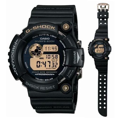 """G shock Casio """"25th anniversary DAWN BLACK Frogman limited edition GW-225A-1JF"""