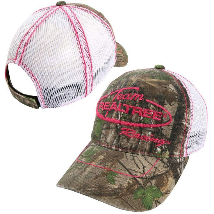Chase Authentics NASCAR Merchandise Women's Tracker Adjustable Hat - Realtree Camo/White