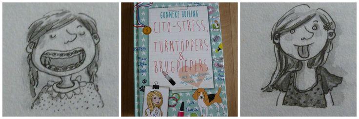 Weer een dikke bundel dagboekverhalen van Fleur: Cito-stress, Turnoppers & brugpiepers. Over groep 8, de eindtoets, de brugklas en turnen in de selectie.