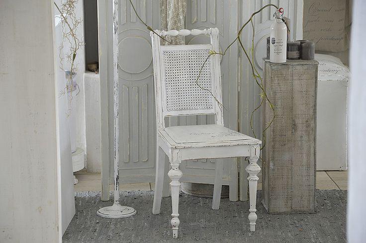 Vintage Stühle - Traumhafter Biedermeierstuhl *Vintage* - ein Designerstück von Elflora bei DaWanda