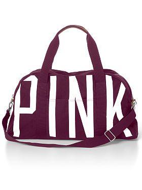 Traveling Victoria Secret Duffle Bag