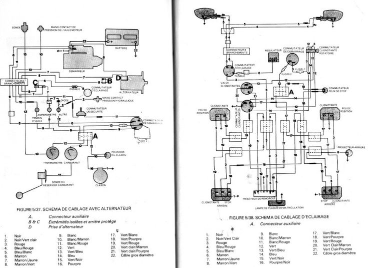 Wiring Diagram For 1210 David Brown David Brown 780 Parts