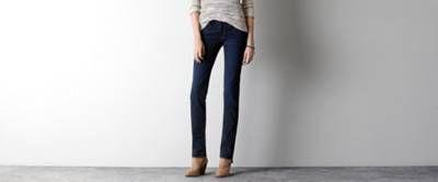 Straight Jean, super stretch by AEO
