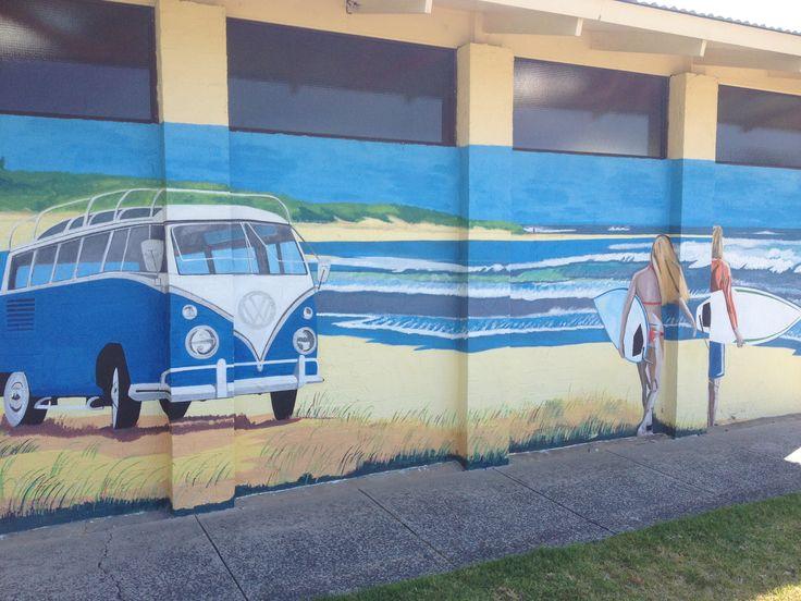 Wall Mural Beach Scene · Wall Mural Beach Scene