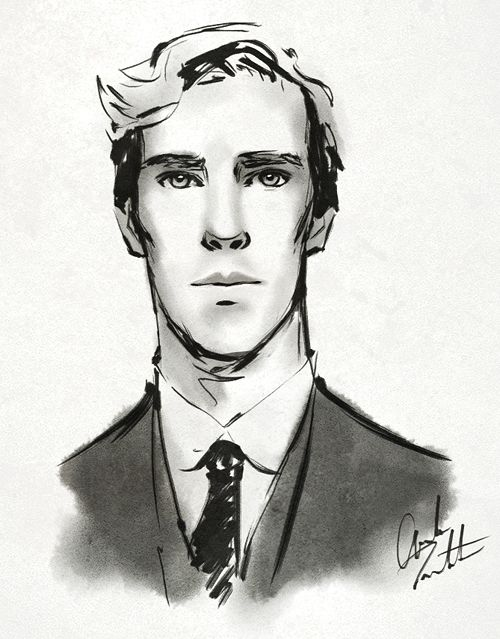 Benedict drawing reference. It could help me draw him good.