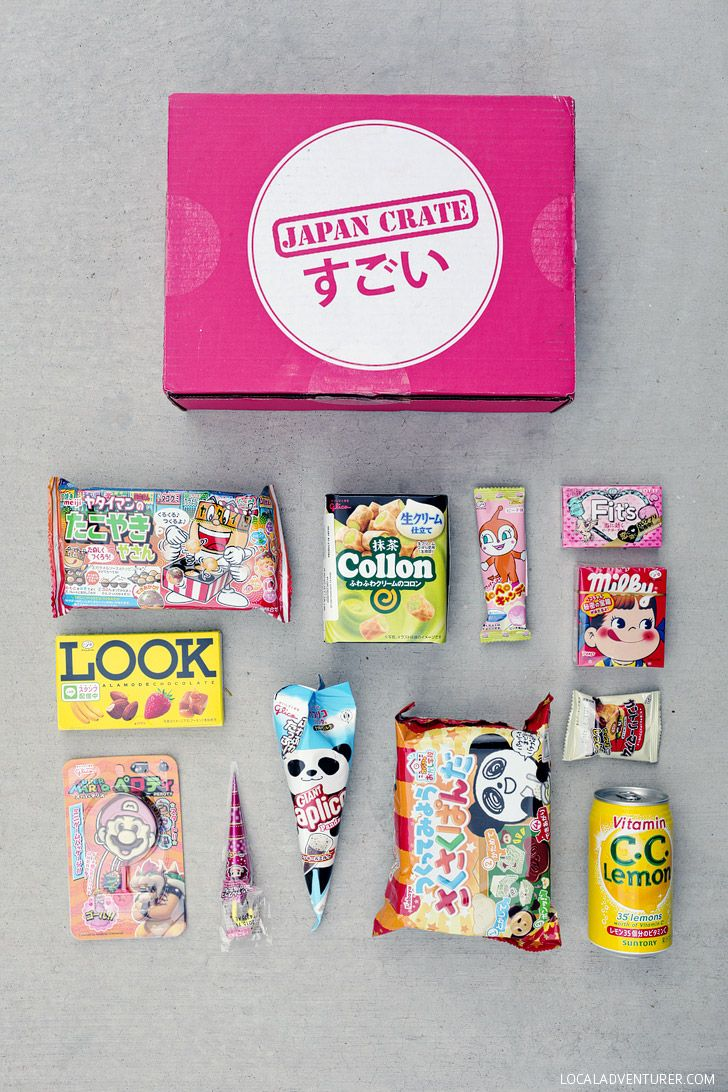 Japan Crate - Weird Japanese Candy in a Monthly Food Box Subscription.