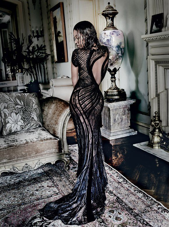 """Mario Testino for Vogue - """"Such is the power of Beyoncé that just one letter tells us who she is. What does it take to run the world?"""""""