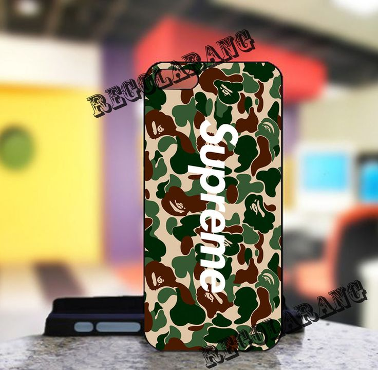 Bape a Bathing Ape Supreme Cover iPhone 7 7 Plus Galaxy S8 S7 S6 Case #UnbrandedGeneric