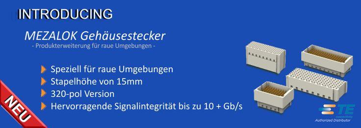 SHC GmbH - Neue #Mezalok #Mezzanine #Gehäusestecker // Die heutigen Embedded-Computing-Module erfordern immer höher Geschwindigkeit, Funktionalität und Flexibilität  in zunehmend kleineren Gehäusen – an dieser Stelle spielen Mezzanine-Karten eine wichtige Rolle. Der TE Mezalok Mezzanine-Steckverbinder unterstützt diese Anwendungen und ist speziell für raue Umgebungen konzipiert. #Technik #TEConnectivity #Steckverbinder #SHC
