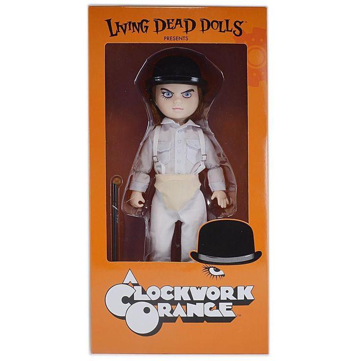 LDDリビングデッドドール 時計じかけのオレンジ アレックス フィギュア ドール LDD Living Dead Dolls A CLOCKWORK ORANGE ALEX  #時計じかけのオレンジ #LivingDeadDolls #リビデ #リビングデッドドールズ  #LDD #MEZCO #doll #ドール #お人形 #blythe #ブライス #アメトイ #アメリカントイ #おもちゃ #おもちゃ買取 #フィギュア買取 #アメトイ買取 #中野ブロードウェイ #ロボットロボット  #ROBOTROBOT  #中野 #WeBuyToys  #リビングデッドドールズ買取