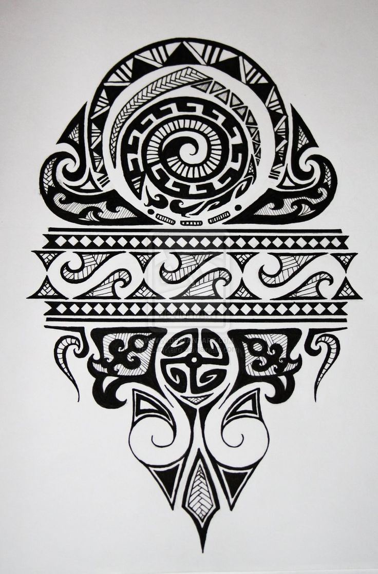 maori-by-lunkaro-designs-interfaces-tattoo-design-2010-2011-i--d-v-tattoodonkey.com #polynesian #tattoo