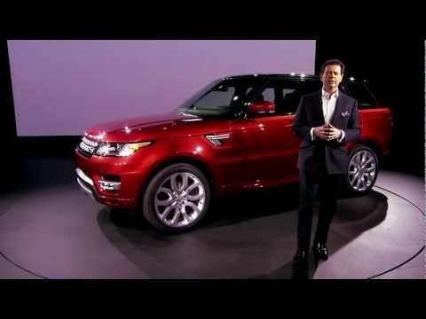 Gerry McGovern tour of the all-new Range Rover Sport