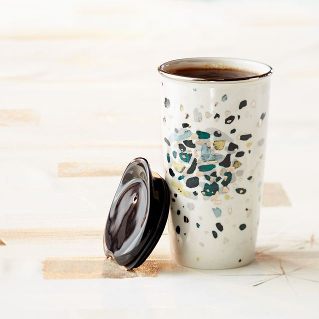 Caribou Coffee Double Wall Coffee Mugs