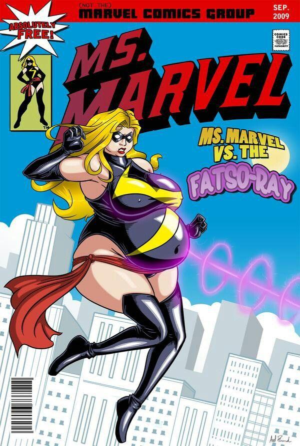 Bbw Superhero Porn - MS Marvel Bbw