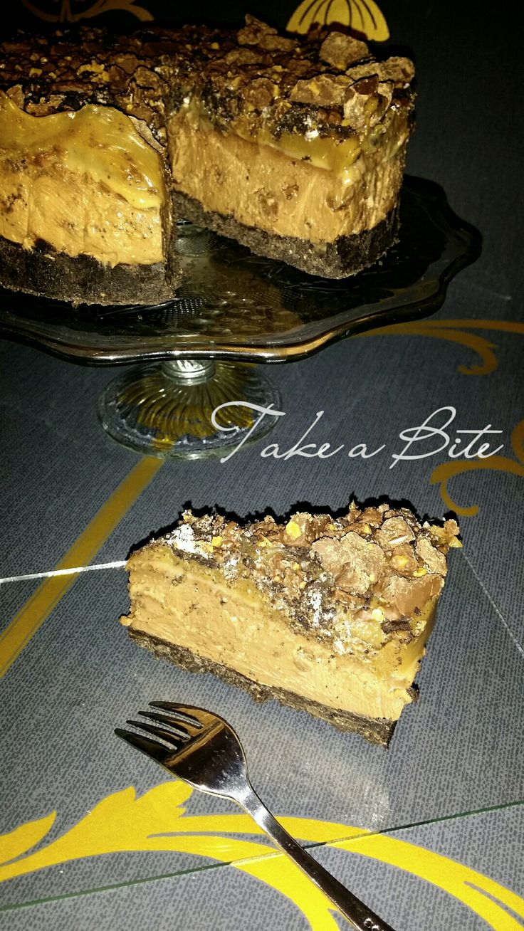 Tony's Chocolonely Zeezout Karamel Cheesecake