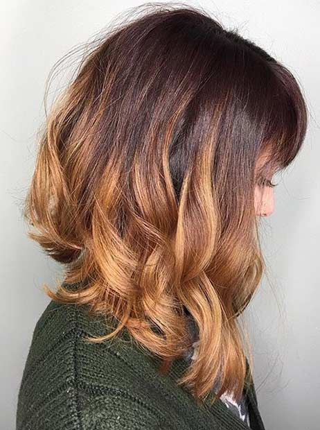 Terrific 1000 Ideas About Long Graduated Bob On Pinterest Auburn Red Hairstyle Inspiration Daily Dogsangcom