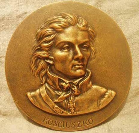 kosciuszko tadeusz | Tadeusz Kościuszko Medalion popiersie - Irena Papucewicz IrJa ...