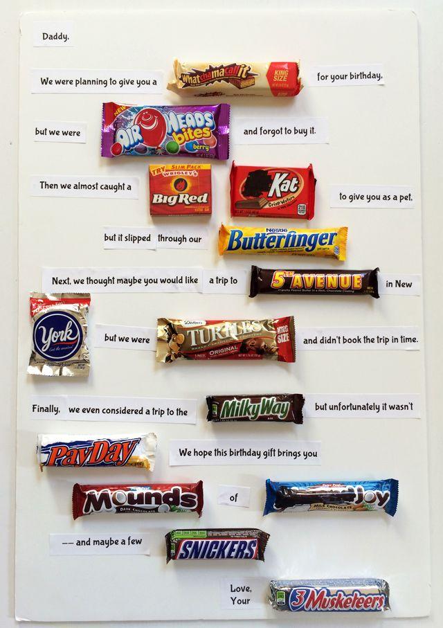 Best 25 Birthday candy grams ideas on Pinterest  Birthday candy