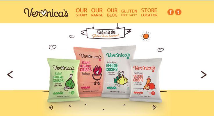 Veronica's Snacks Website
