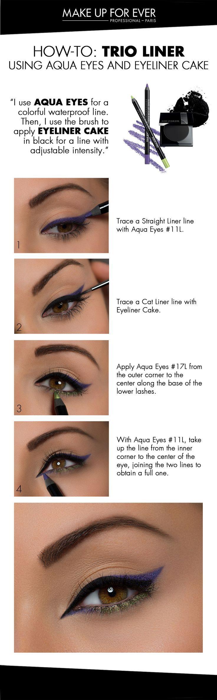 zipper face makeup instructions