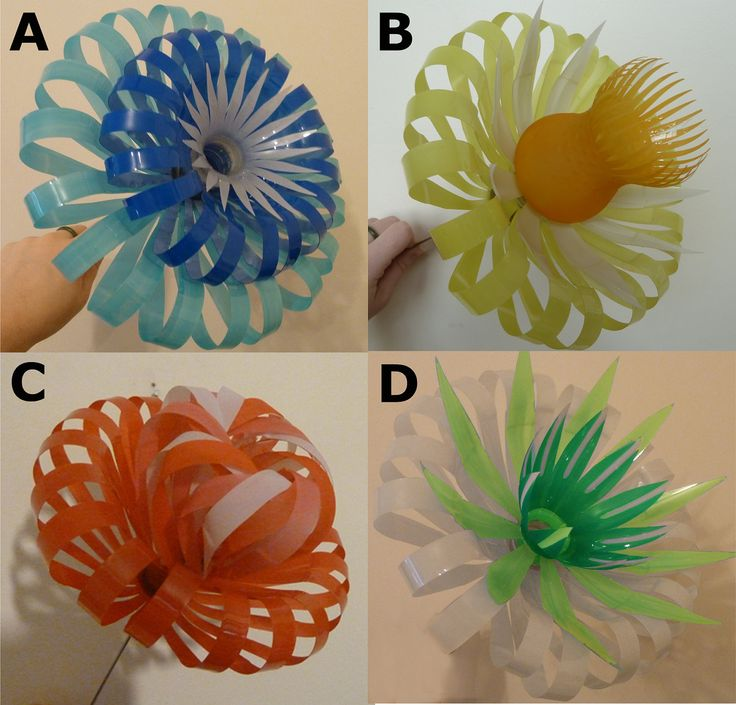 plastic bottle flowers via etsy sculpture On plastic bottle flower art