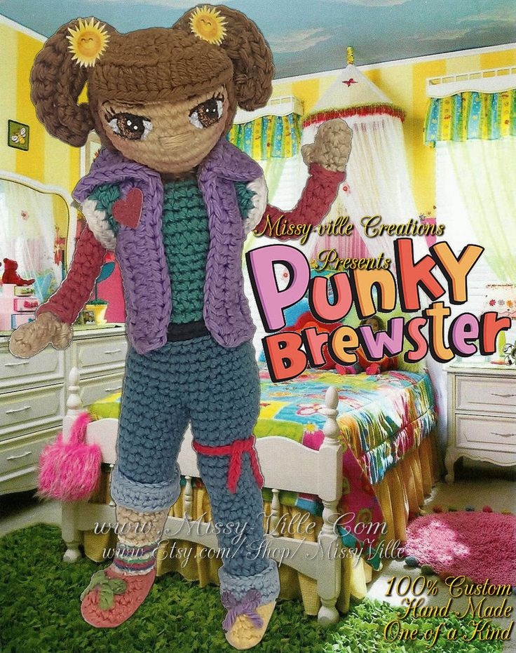 Панки Брюстер крючком Кукла MissyBaque на deviantart