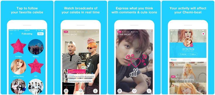 Aplicativo V – Live Broadcasting App