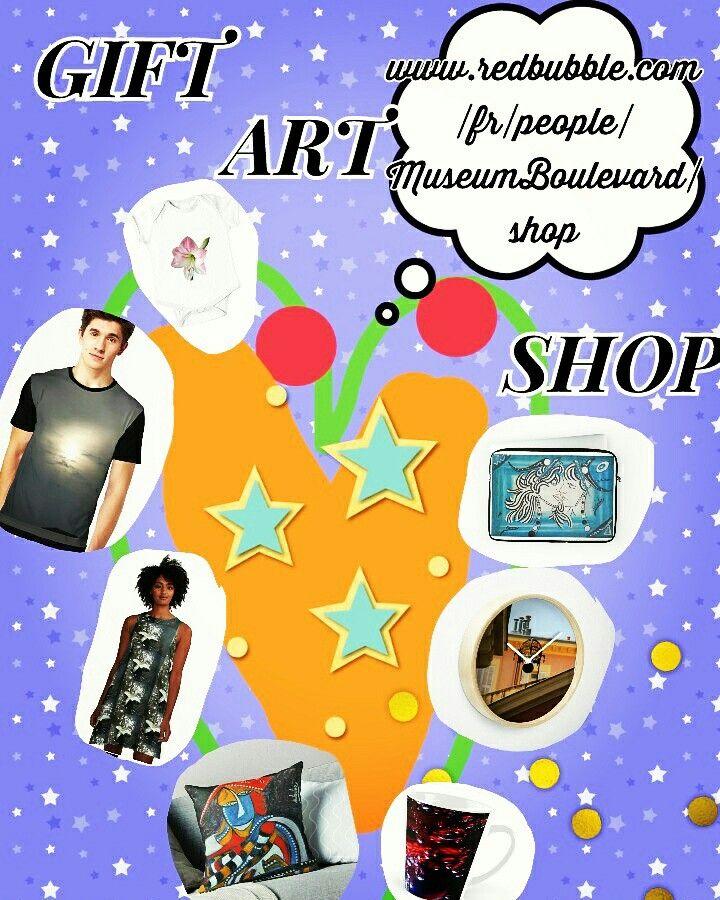 #gift #art #shop by Museum Boulevard on Red Bubble only / #cadeau #artistsoninstagram #boutique par Museum Boulevard seulement sur Red Bubble / everything you need #shirts #bodys #dress #cups  #clock #laptop / tout ce dont vous avez besoin #tshirt #body #robe #tasse #mug #horloge #coussin #housse #tablette / buy online now !