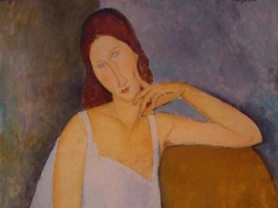 Fake Modigliani Painting - Elmyr de Hory sold 1,000 forged paintings to art galleries all over the world!