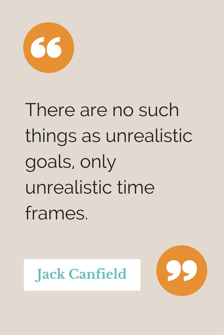 Quote from The Power of Focus by Jack Canfield.