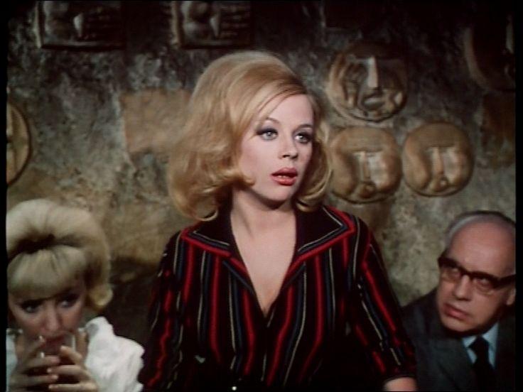 som skuespillerinden Hellen, i Et døgn uden løgn fra 1963.