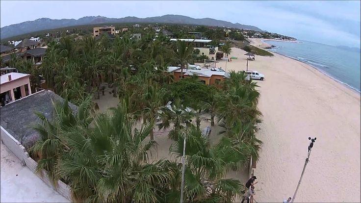 La Ventana Kite Boarding Drone Video