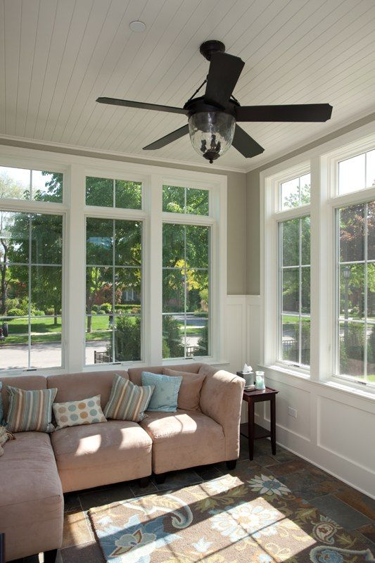 17 best images about sunrooms on pinterest sunroom Ceiling Fan 1995 Polished Brass Hugger Ceiling Fan