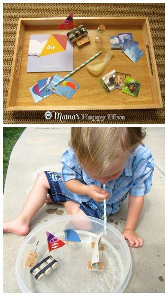 Land, Water, and Air Montessori Presentation