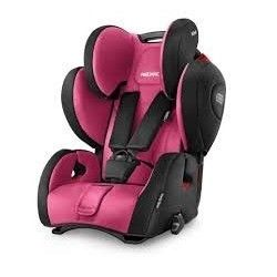 Recaro Young Sport Hero - Silla auto grupo 1/2/3 color pink