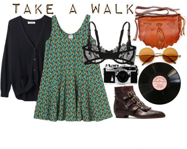 """""""Take A Walk."""" by hippierose on Polyvore"""