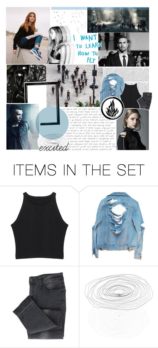 """""""i want to learn how to fly {DIS3}"""" by squidney12 ❤ liked on Polyvore featuring art, Blue, divergent, dauntless, DauntlessInitiationO3 and wearedauntless"""