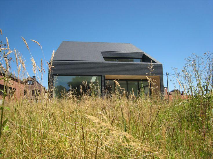 Woning DP | Eengezinswoningen | projecten | a154 | Architectuur voor nieuwbouw en renovatie, Gent