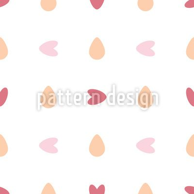 You turn my heart round Vector Pattern Vector Pattern by Elena Alimpieva at patterndesigns.com